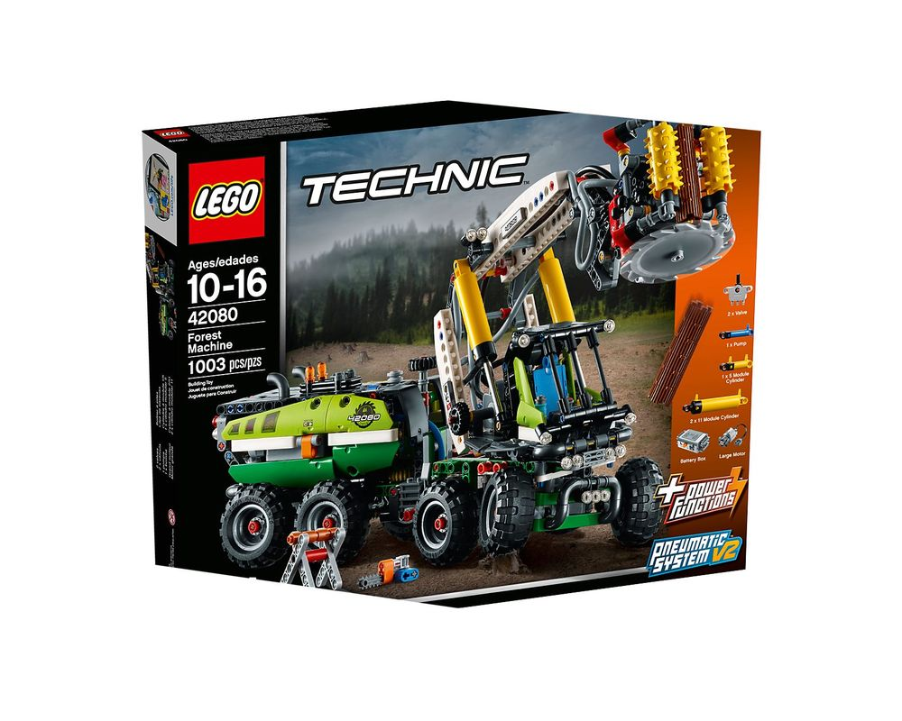 LEGO Set 42080-1 Forest Machine
