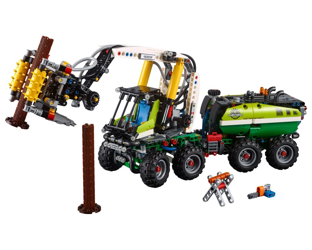 LEGO Set 42080-1 Forest Machine (LEGO - Model)