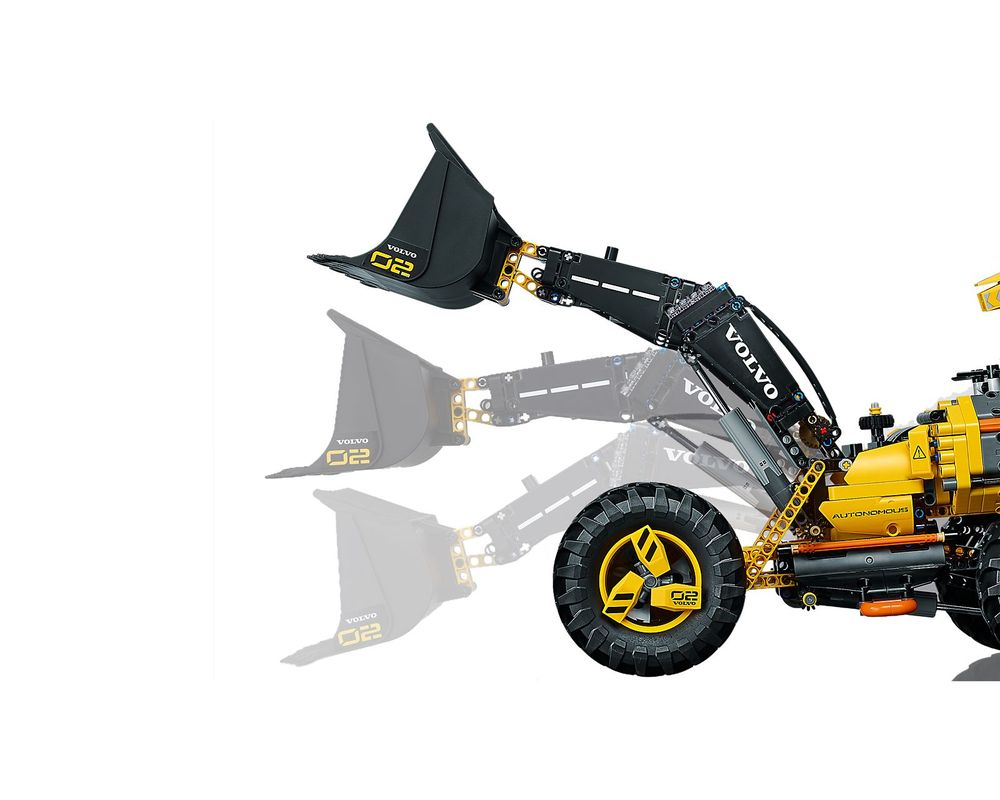 LEGO Set 42081-1 Volvo Concept Wheel Loader ZEUX