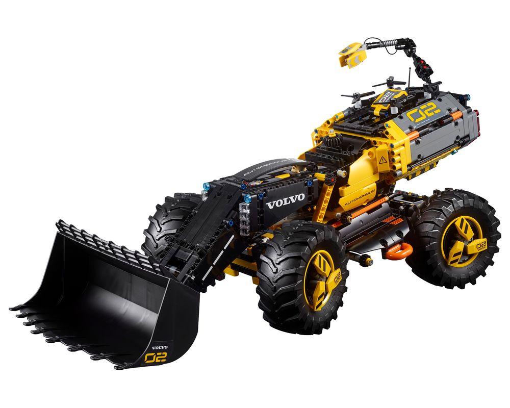 LEGO Set 42081-1 Volvo Concept Wheel Loader ZEUX (LEGO - Model)