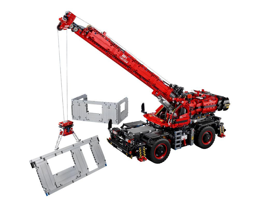 LEGO Set 42082-1 Rough Terrain Crane (Model - A-Model)