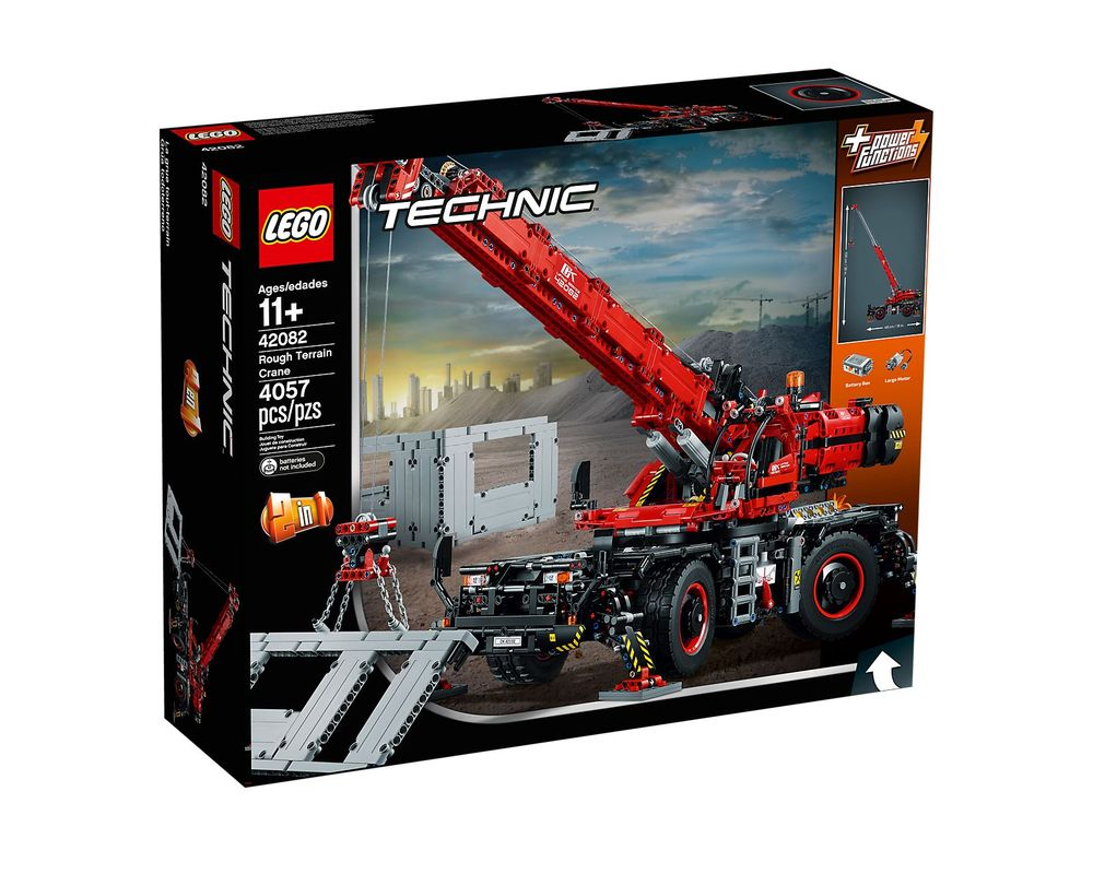 LEGO Set 42082-1 Rough Terrain Crane