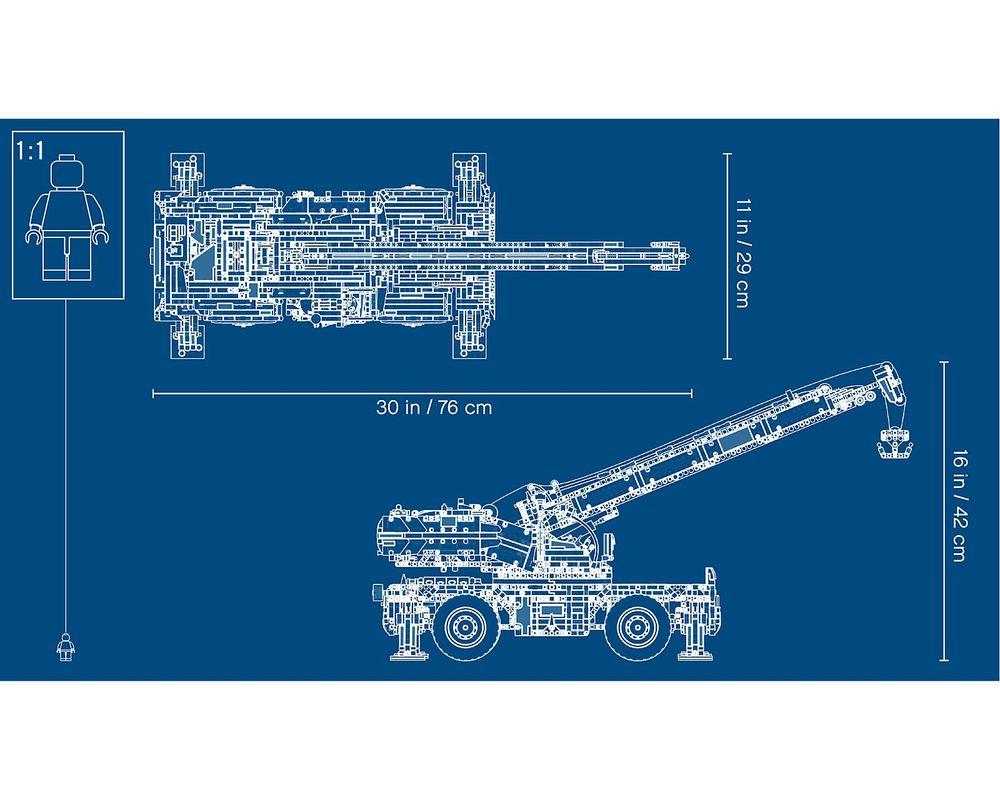LEGO Set 42082-1 Rough Terrain Crane
