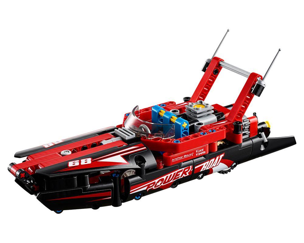 LEGO Set 42089-1 Power Boat (Model - A-Model)