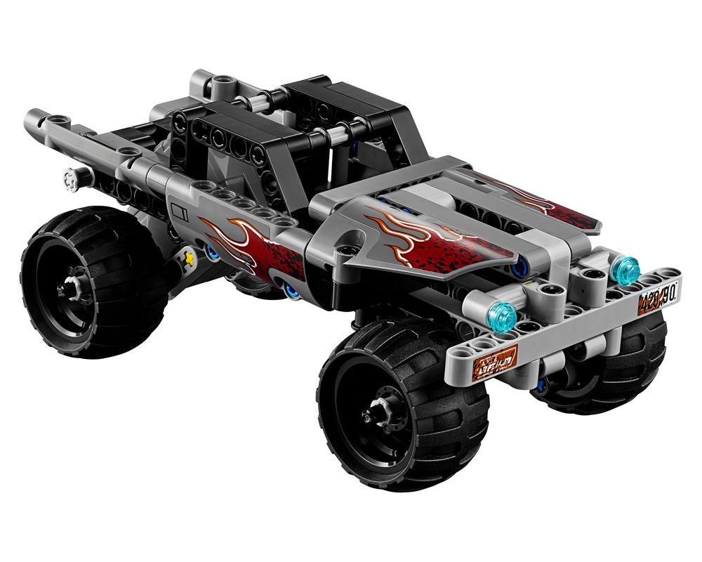 LEGO Set 42090-1 Getaway Truck (Model - A-Model)