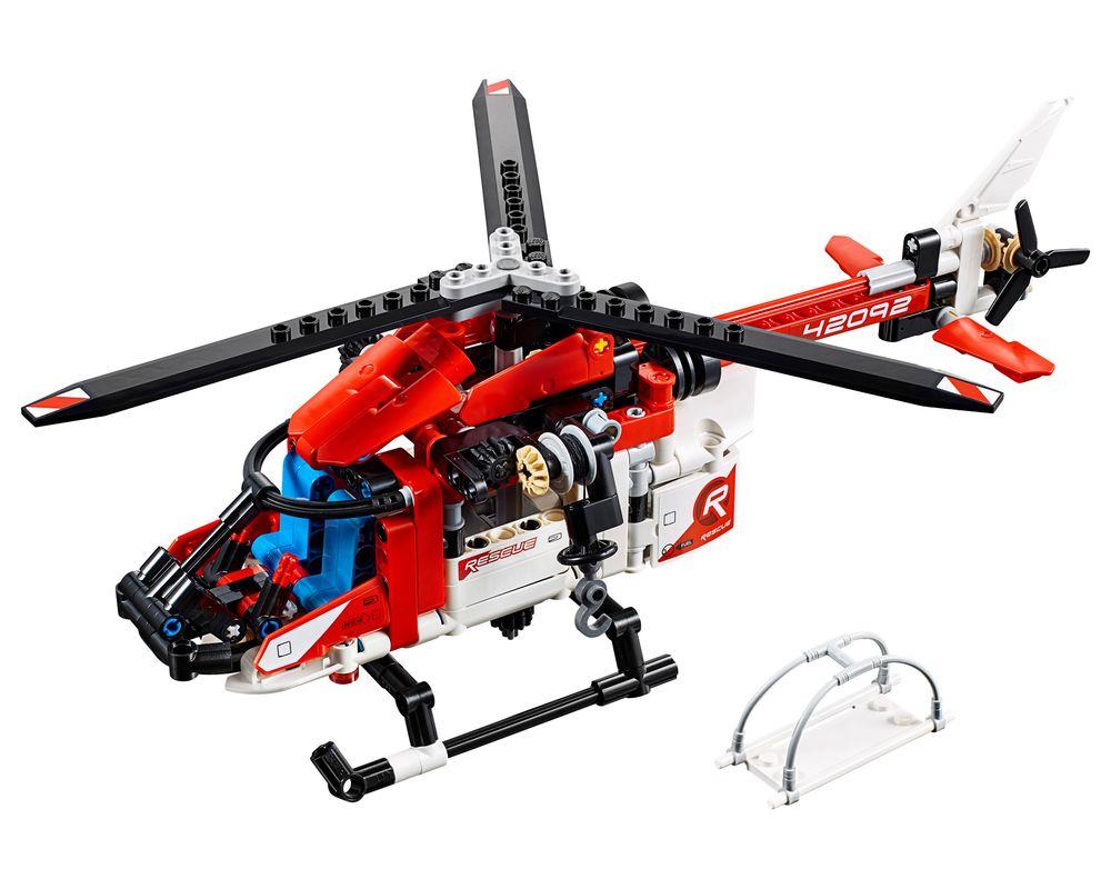 LEGO Set 42092-1 Rescue Helicopter (LEGO - Model)