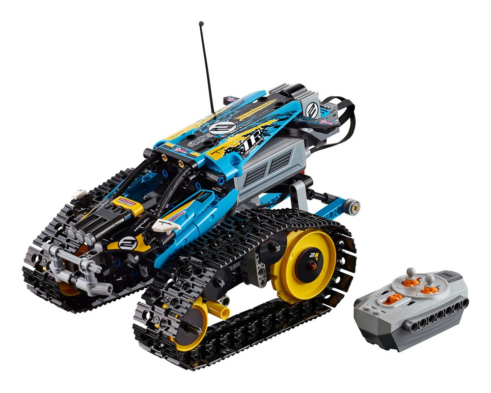 LEGO Set 42095-1 Remote-Controlled Stunt Racer (Model - A-Model)