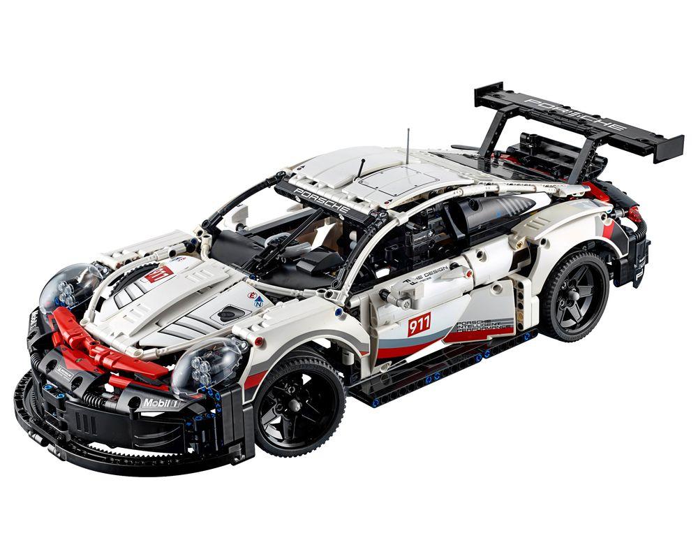LEGO Set 42096-1 Porsche 911 RSR (LEGO - Model)