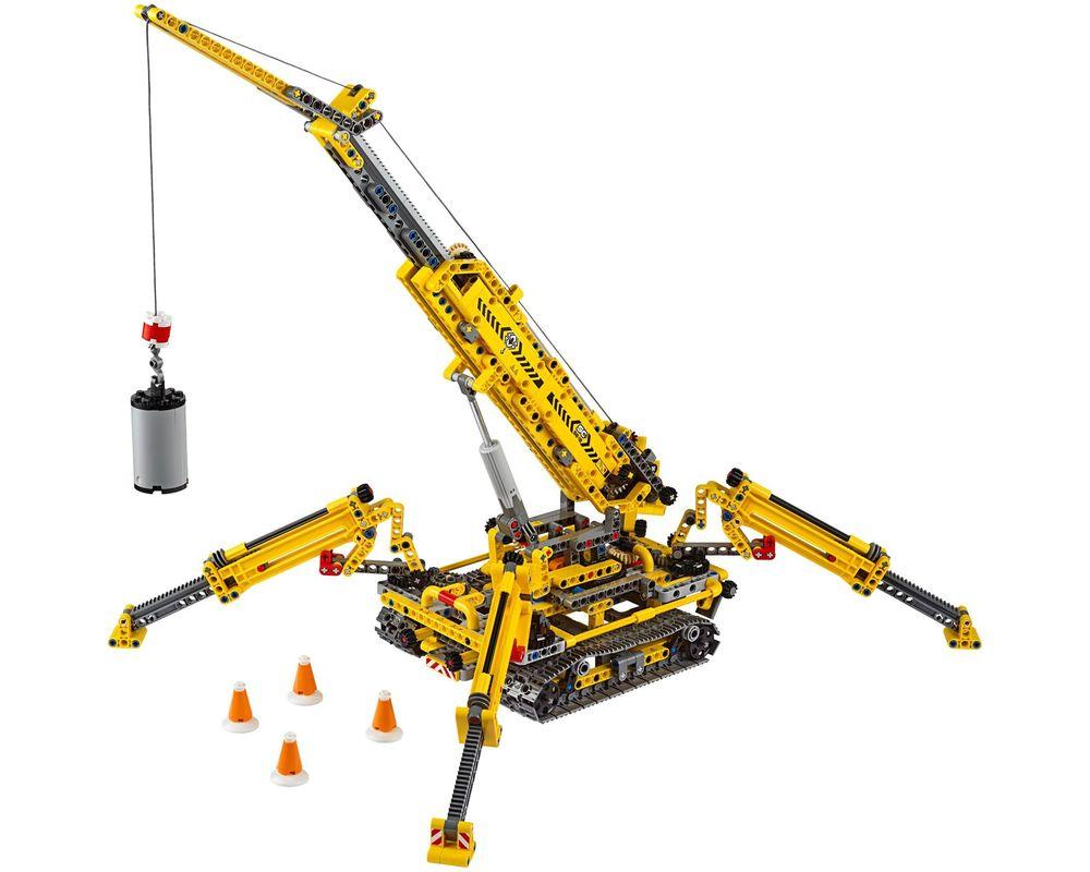 LEGO Set 42097-1 Compact Crawler Crane (Model - A-Model)