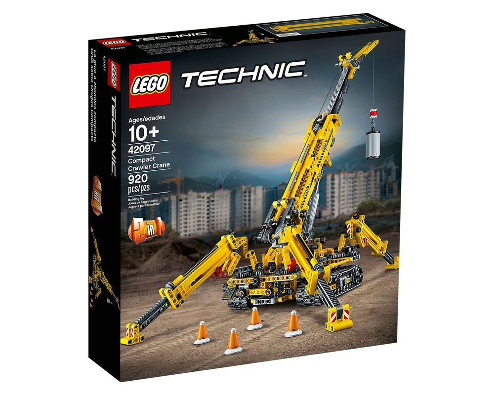 LEGO Set 42097-1 Compact Crawler Crane