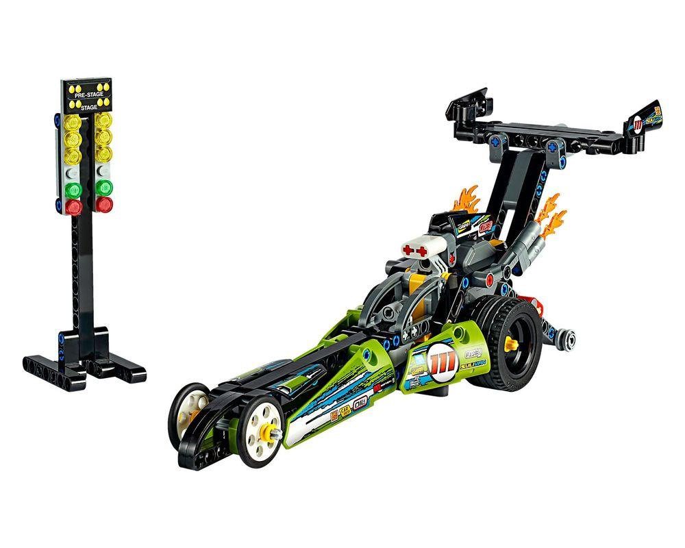 LEGO Set 42103-1 Dragster (Model - A-Model)