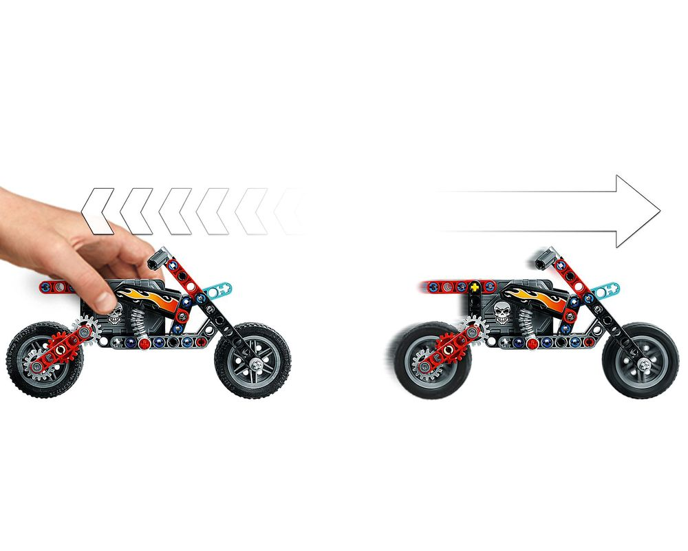 LEGO Set 42106-1 Stunt Show Truck & Bike (Model - A-Model)