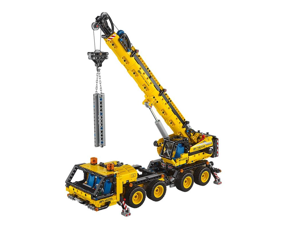 LEGO Set 42108-1 Mobile Crane (Model - A-Model)