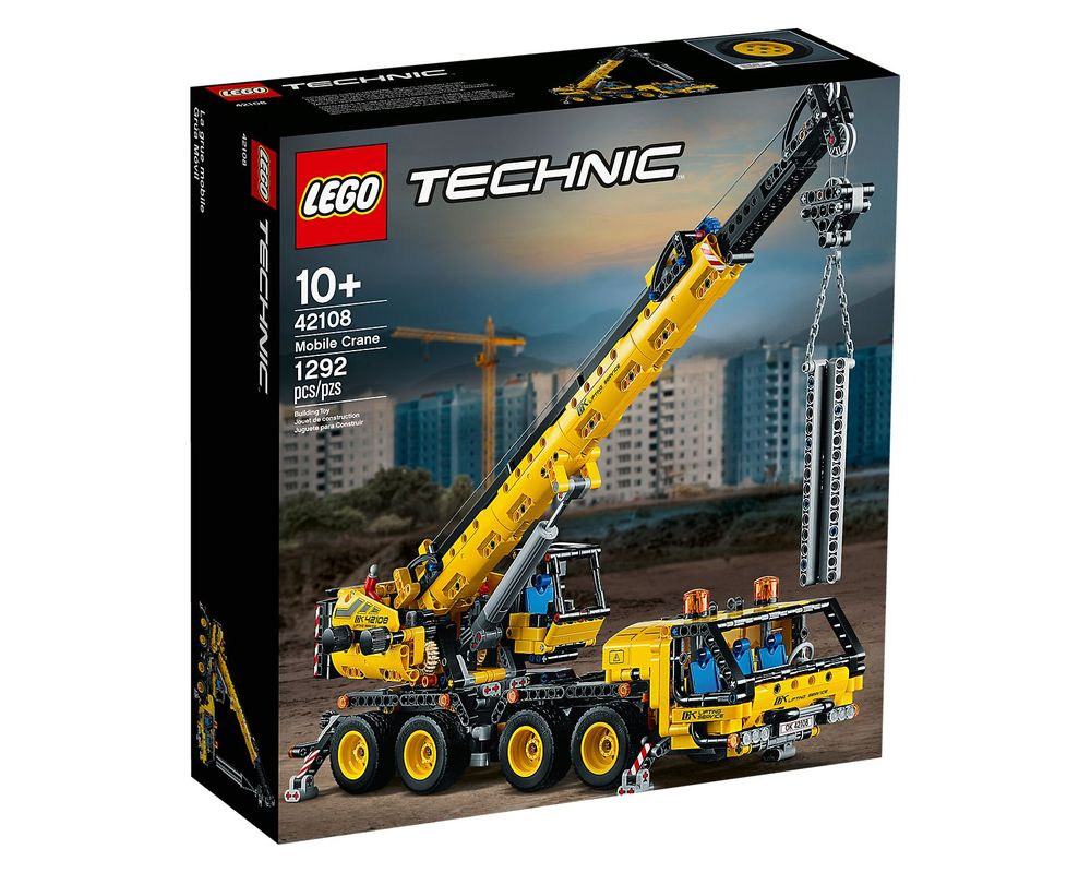 LEGO Set 42108-1 Mobile Crane