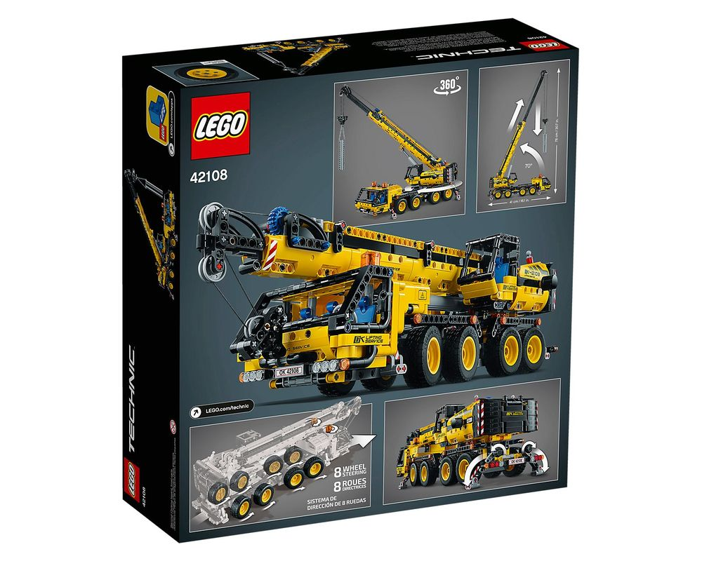 LEGO Set 42108-1 Mobile Crane
