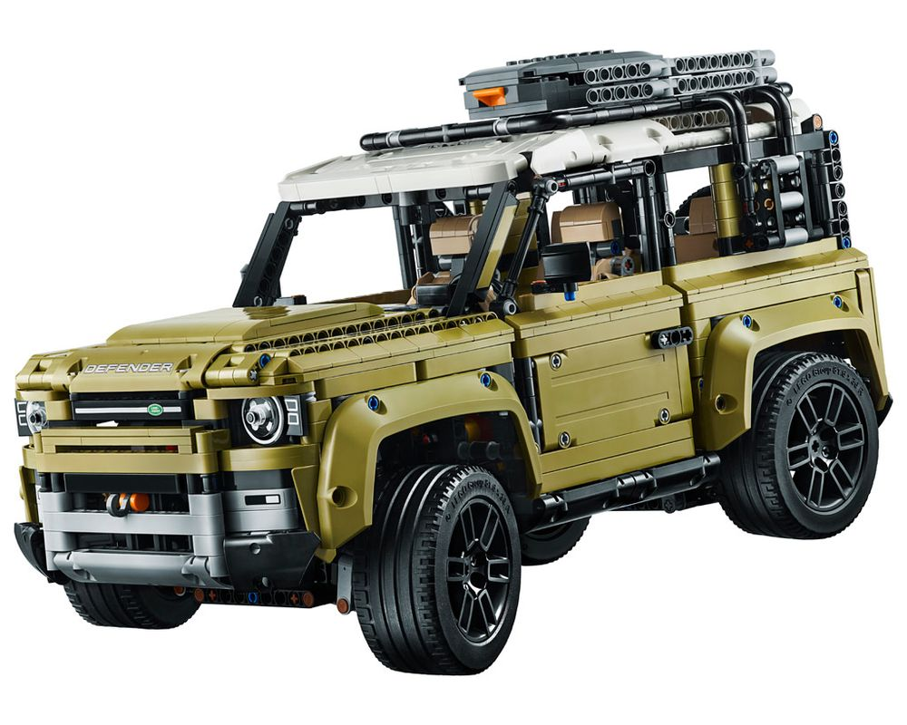 LEGO Set 42110-1 Land Rover Defender (Model - A-Model)