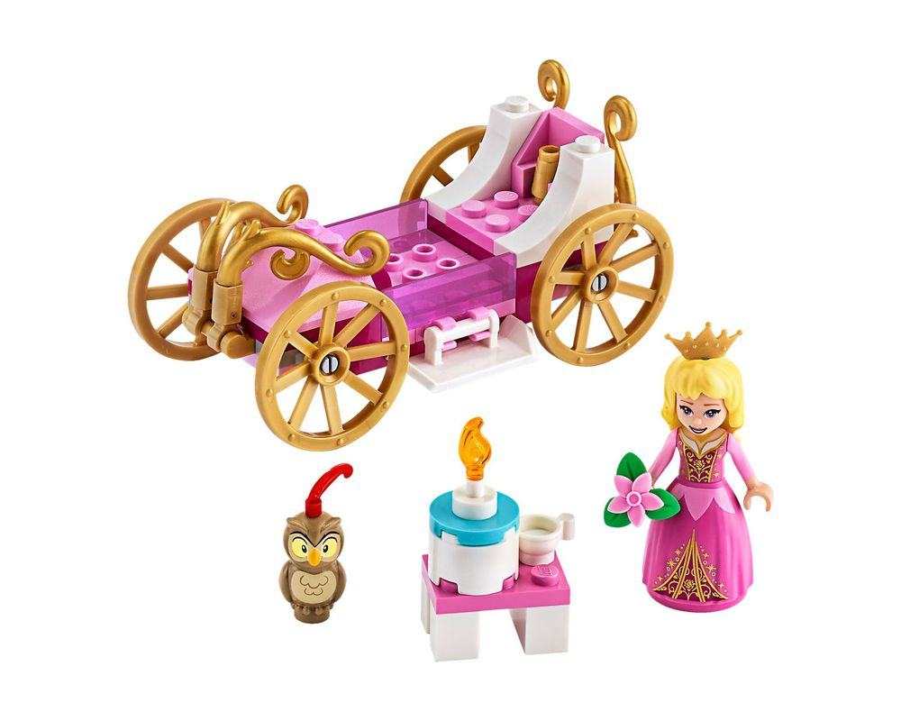 LEGO Set 43173-1 Aurora's Royal Carriage (Model - A-Model)