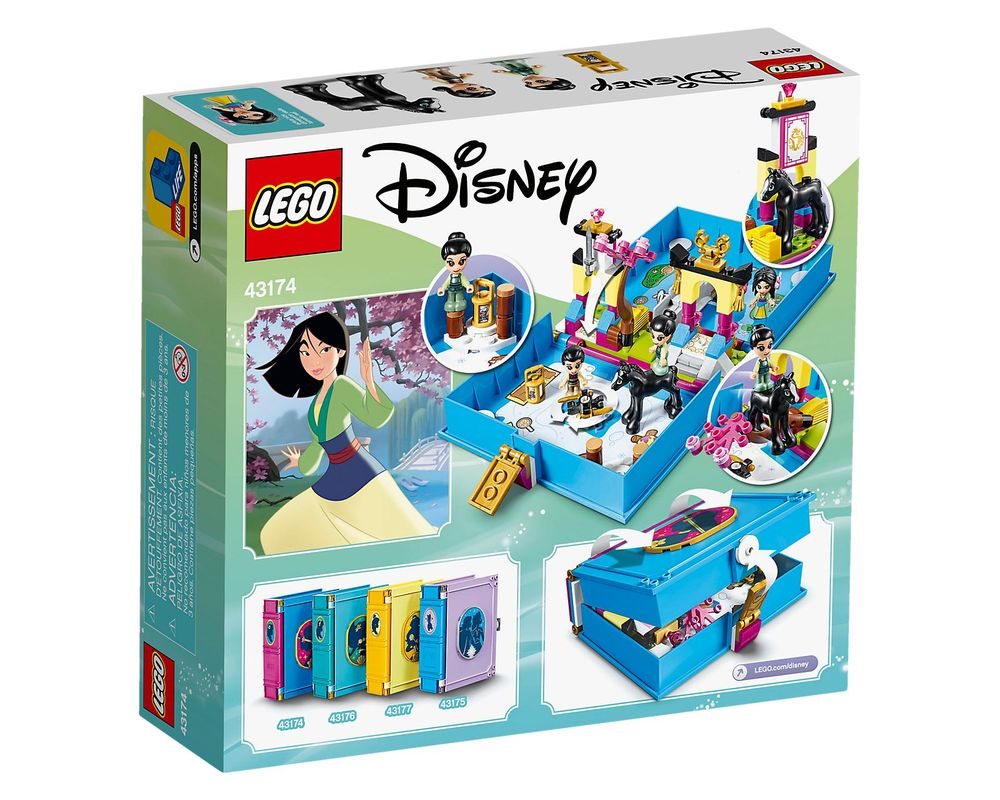 LEGO Set 43174-1 Mulan's Storybook Adventures