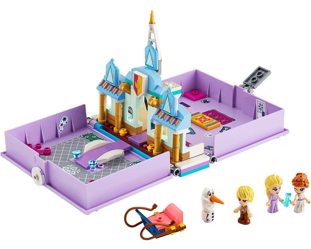 LEGO Set 43175-1 Anna and Elsa's Storybook Adventures (Model - A-Model)