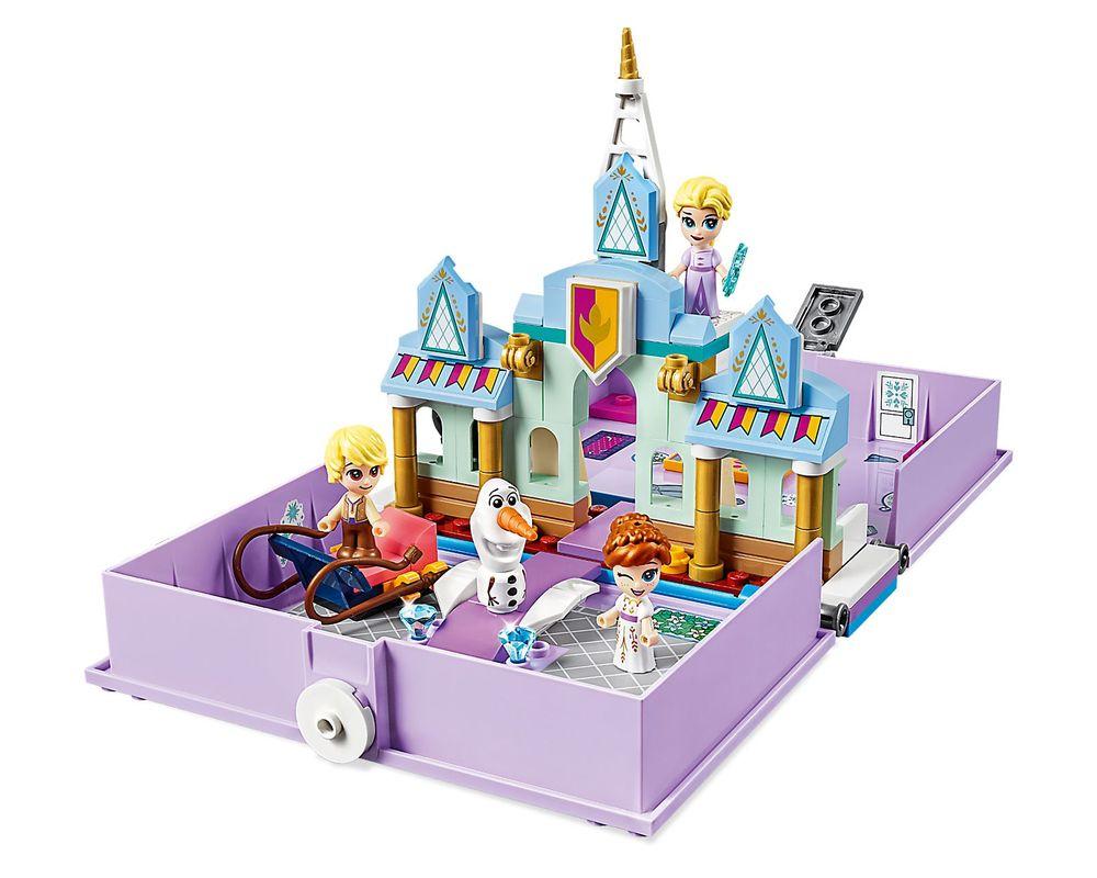 LEGO Set 43175-1 Anna and Elsa's Storybook Adventures