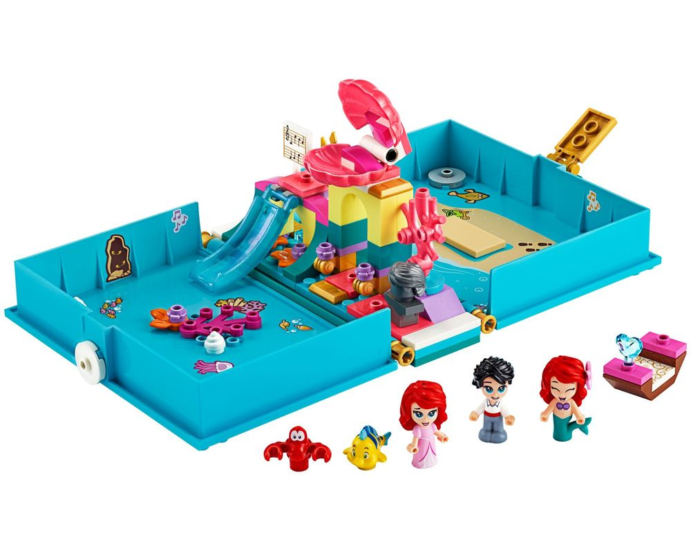 LEGO Set 43176-1 Ariel's Storybook Adventures (Model - A-Model)