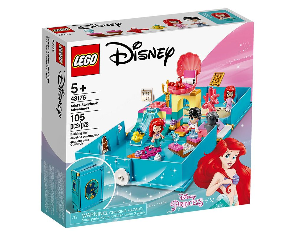 LEGO Set 43176-1 Ariel's Storybook Adventures