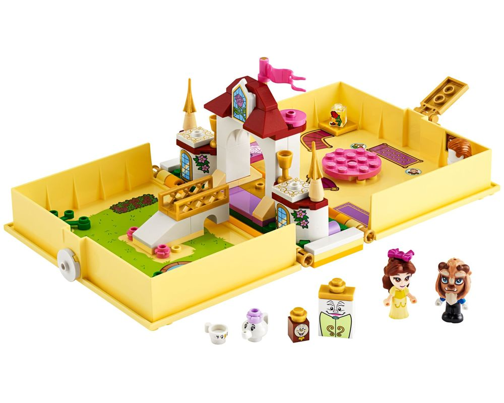 LEGO Set 43177-1 Belle's Storybook Adventures (Model - A-Model)