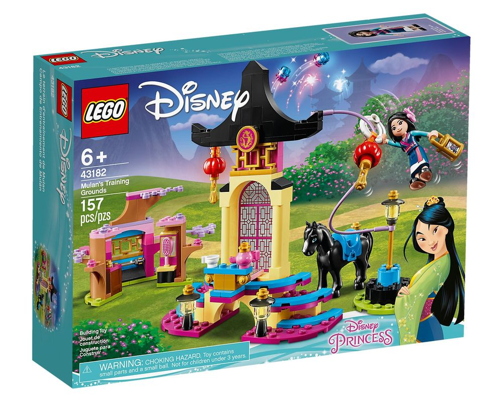 LEGO Set 43182-1 Mulan's Training Grounds