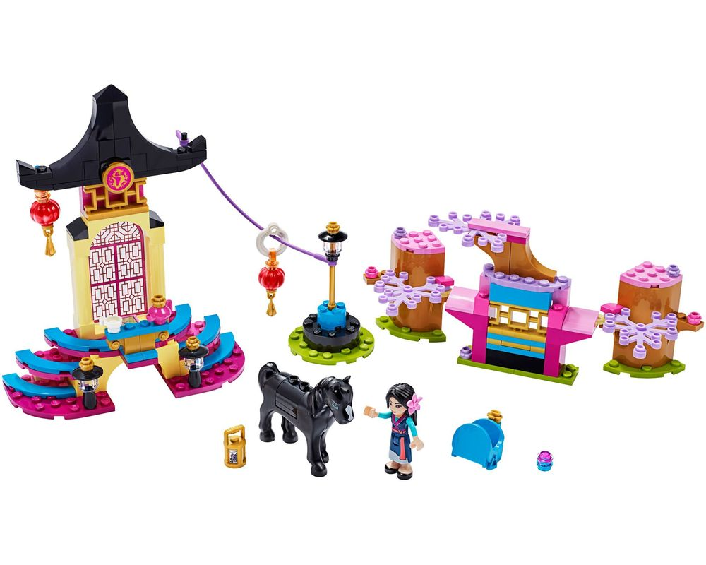 LEGO Set 43182-1 Mulan's Training Grounds (Model - A-Model)