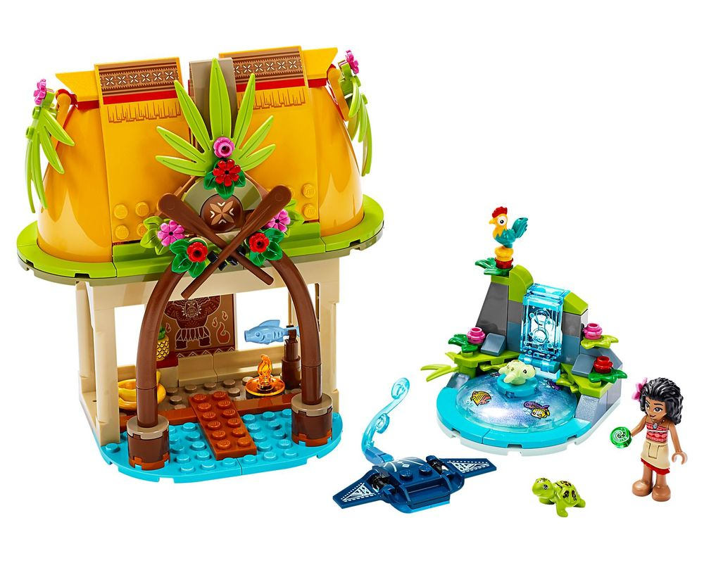 LEGO Set 43183-1 Moana's Island Home (Model - A-Model)