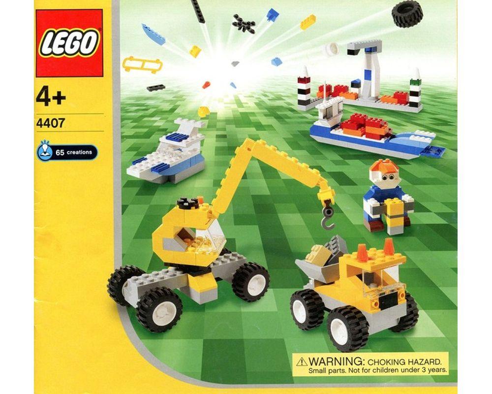 LEGO Set 4407-1 Transportation