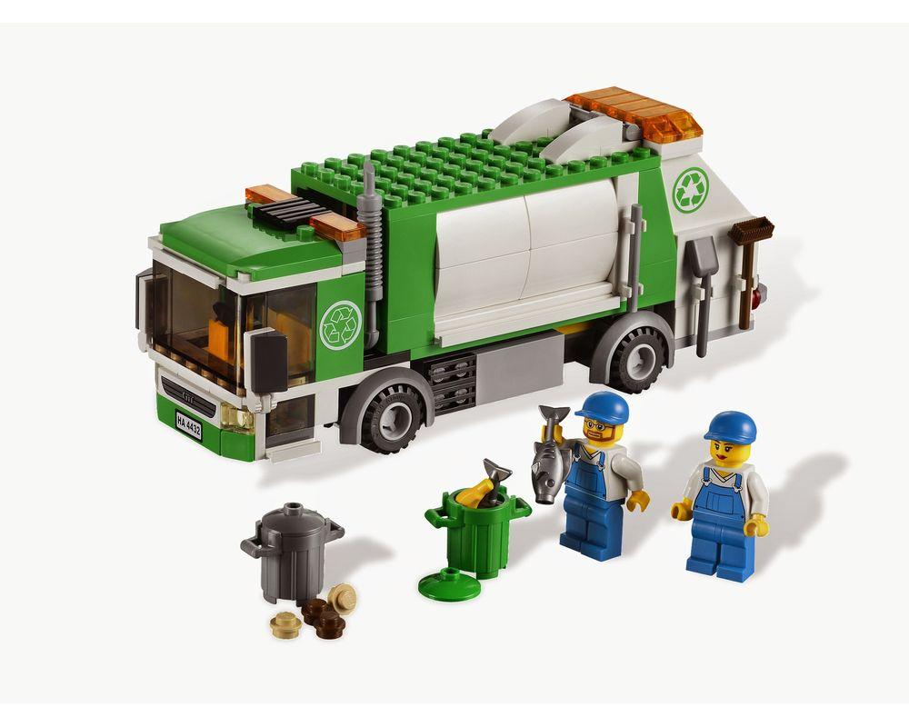 LEGO Set 4432-1 Garbage Truck (Model - A-Model)