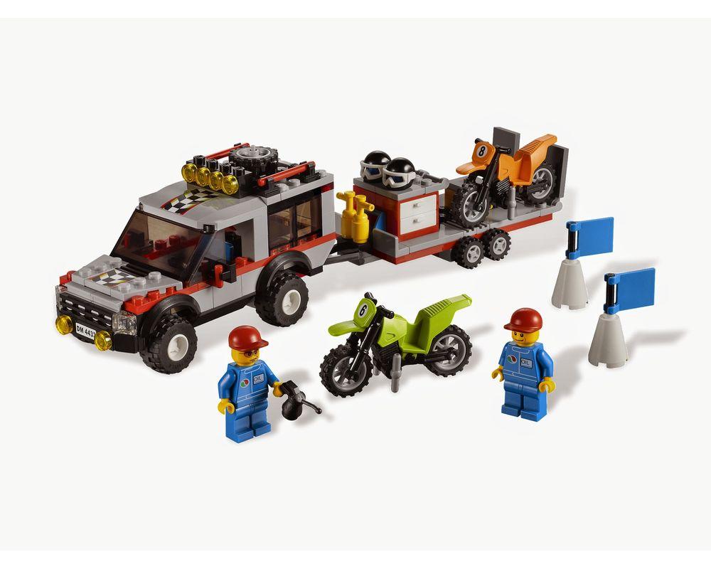 LEGO Set 4433-1 Dirt Bike Transporter (Model - A-Model)