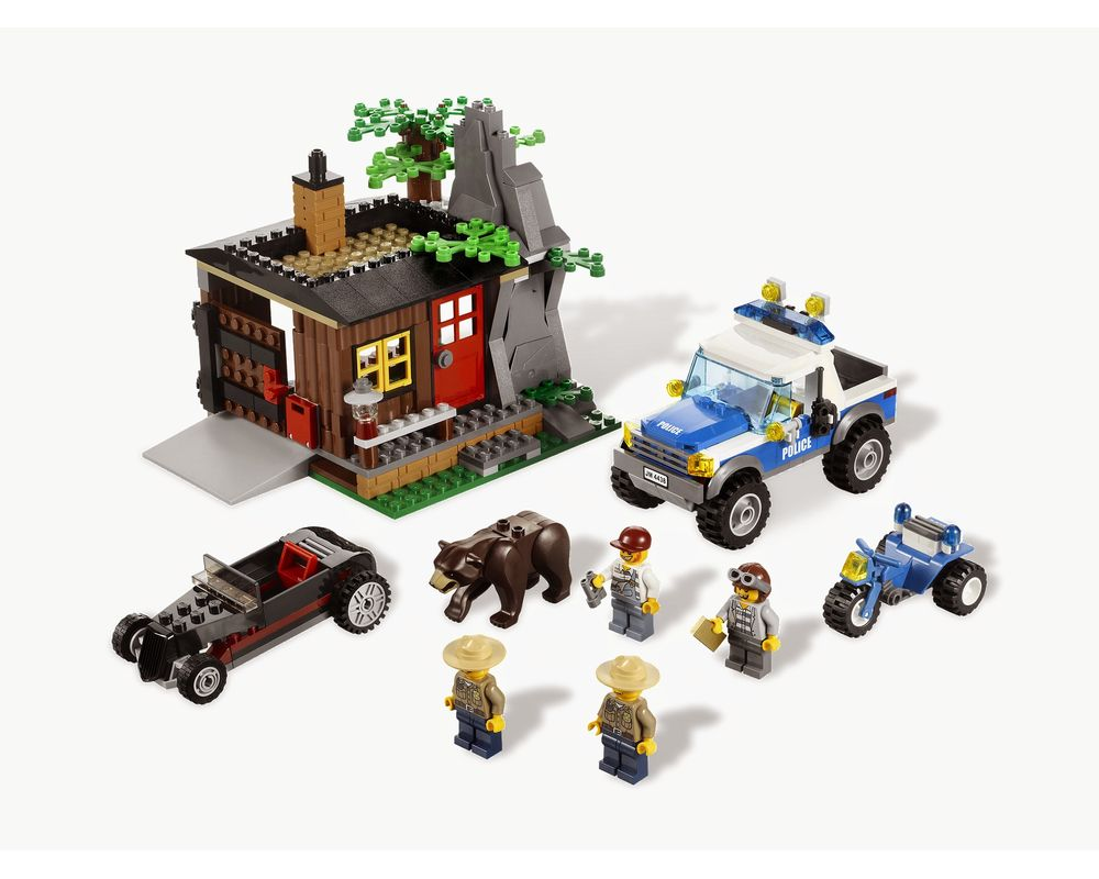LEGO Set 4438-1 Robbers' Hideout (Model - A-Model)