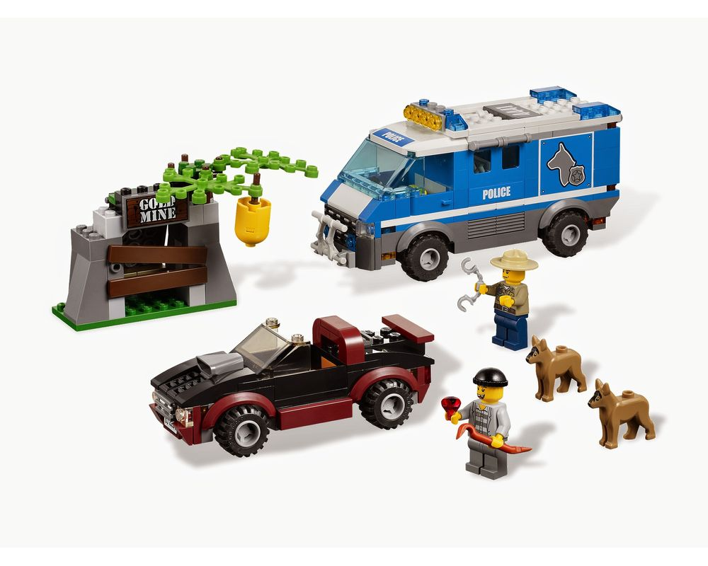 LEGO Set 4441-1 Police Dog Van (LEGO - Model)