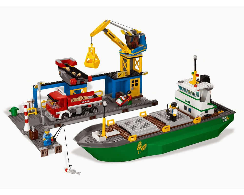 LEGO Set 4645-1 Harbor (LEGO - Model)