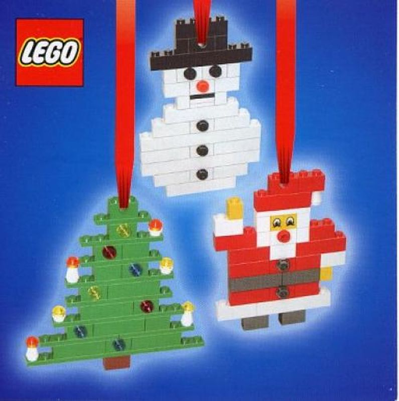 LEGO Set 4759-1 Three Christmas Decorations