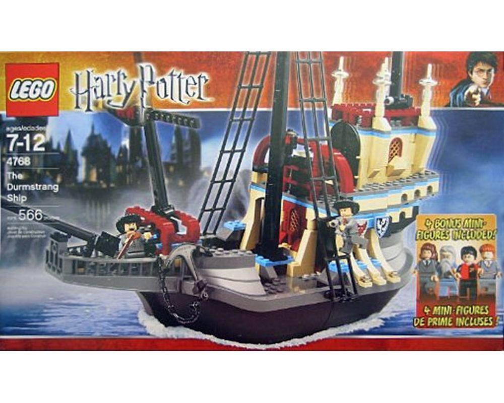 Lego Set 4768 2 The Durmstrang Ship With Bonus Minifigures 2005 Harry Potter Rebrickable Build With Lego Professor igor karkaroff viktor krum ship galleon magic. lego set 4768 2 the durmstrang ship