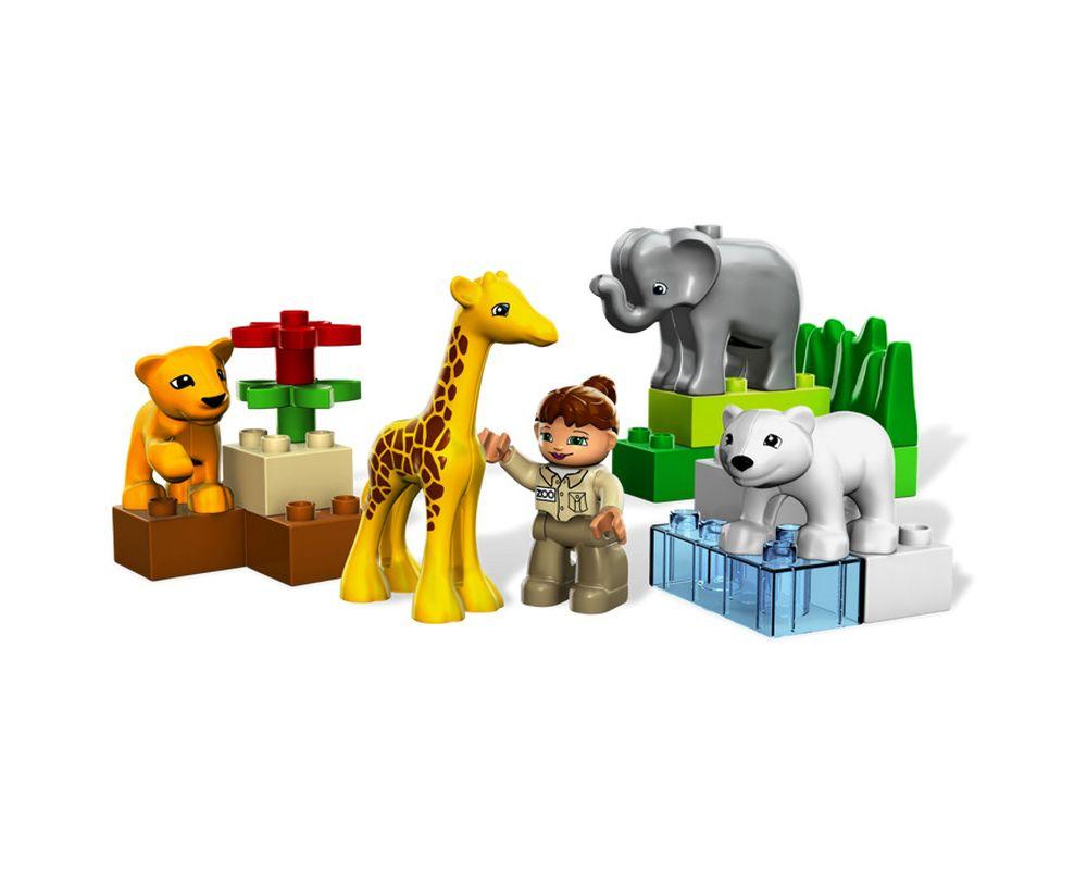 LEGO Set 4962-3 Baby Zoo (re-release) (Model - A-Model)
