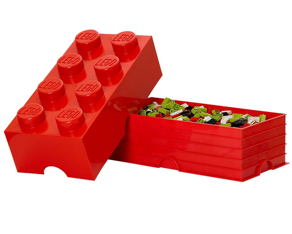 LEGO Set 5000463-1 8 stud Red Storage Brick