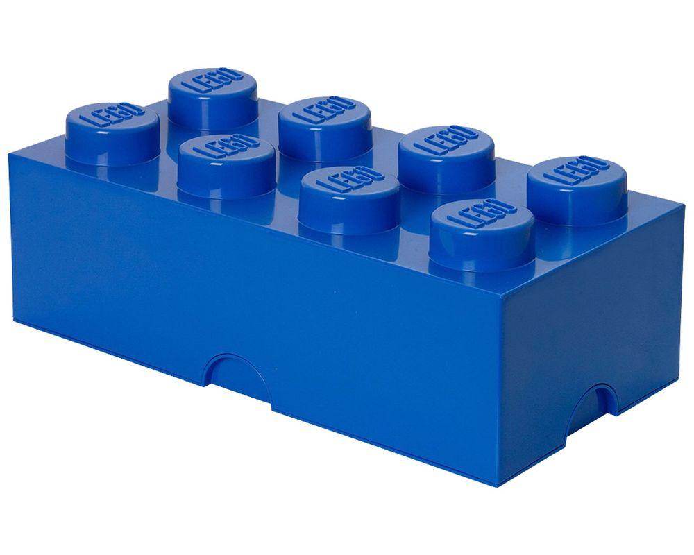 LEGO Set 5001266-1 8 stud Blue Storage Brick (LEGO - Model)