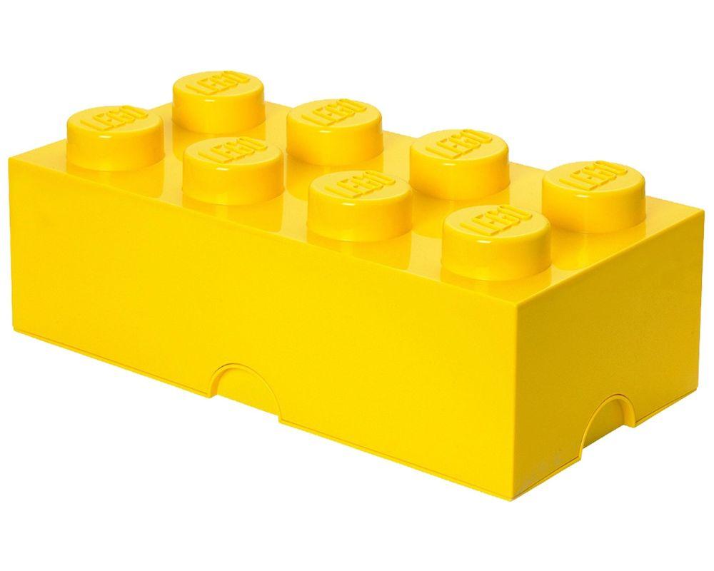 LEGO Set 5001267-1 8 stud Yellow Storage Brick (LEGO - Model)