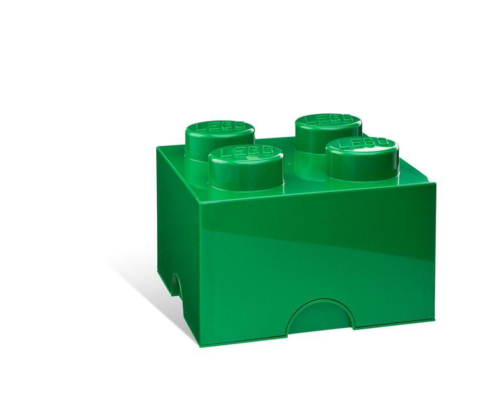 LEGO Set 5001384-1 4-stud Green Storage Brick