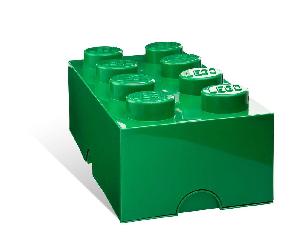 LEGO Set 5001387-1 8-stud Green Storage Brick