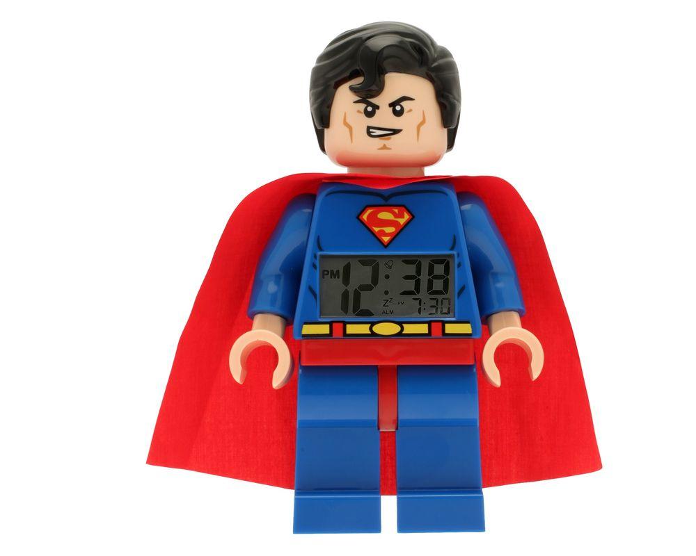 LEGO Set 5002424-1 Superman Minifigure Clock (LEGO - Model)