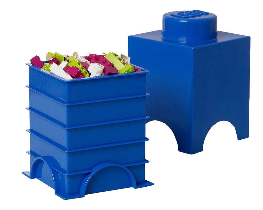 LEGO Set 5003565-1 1 stud Blue Storage Brick