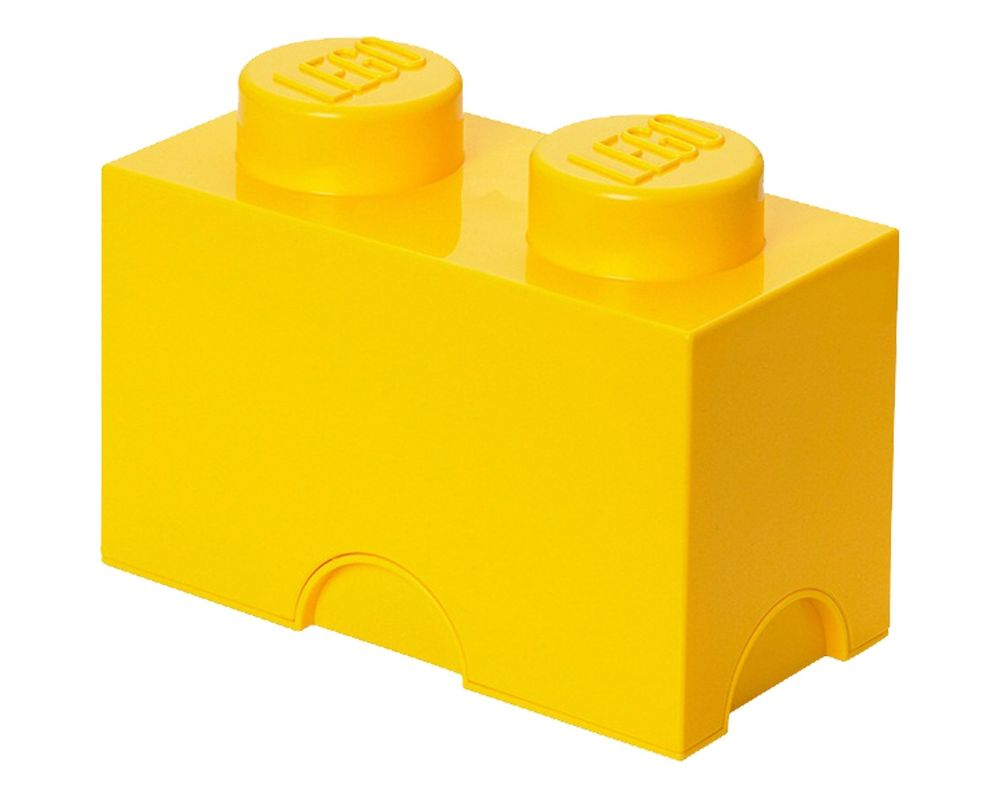 LEGO Set 5003570-1 2 stud Yellow Storage Brick (LEGO - Model)