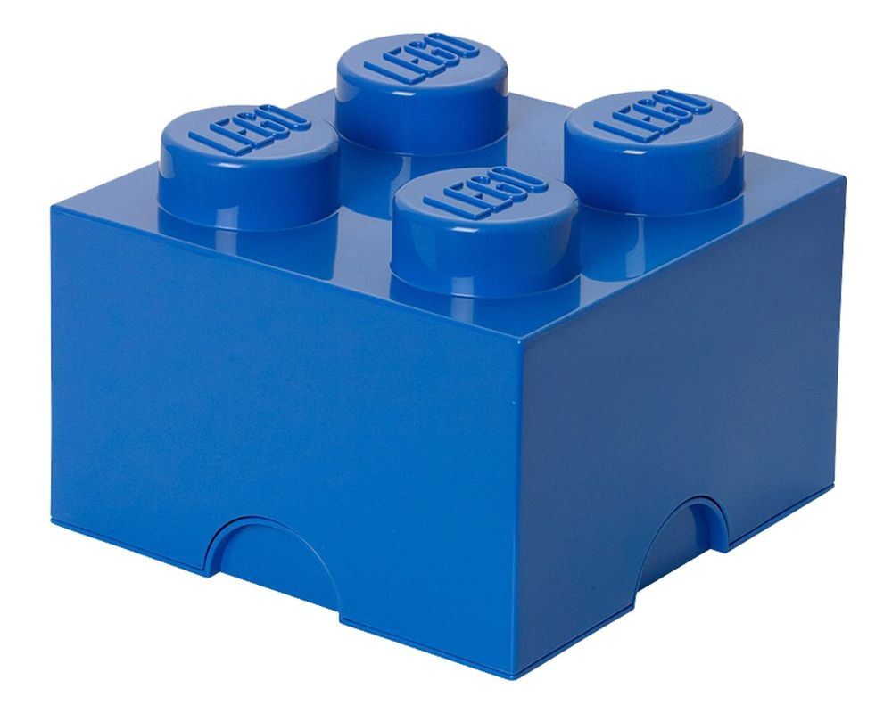 LEGO Set 5003574-1 4 stud Blue Storage Brick (LEGO - Model)