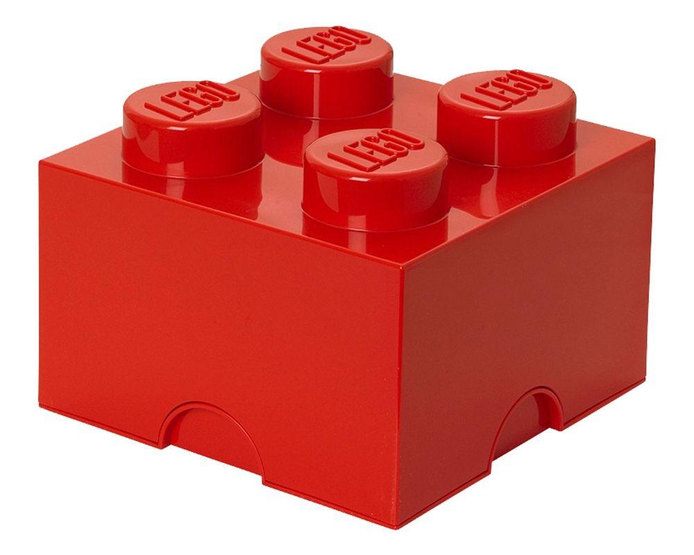 LEGO Set 5003575-1 4 stud Red Storage Brick (Model - A-Model)
