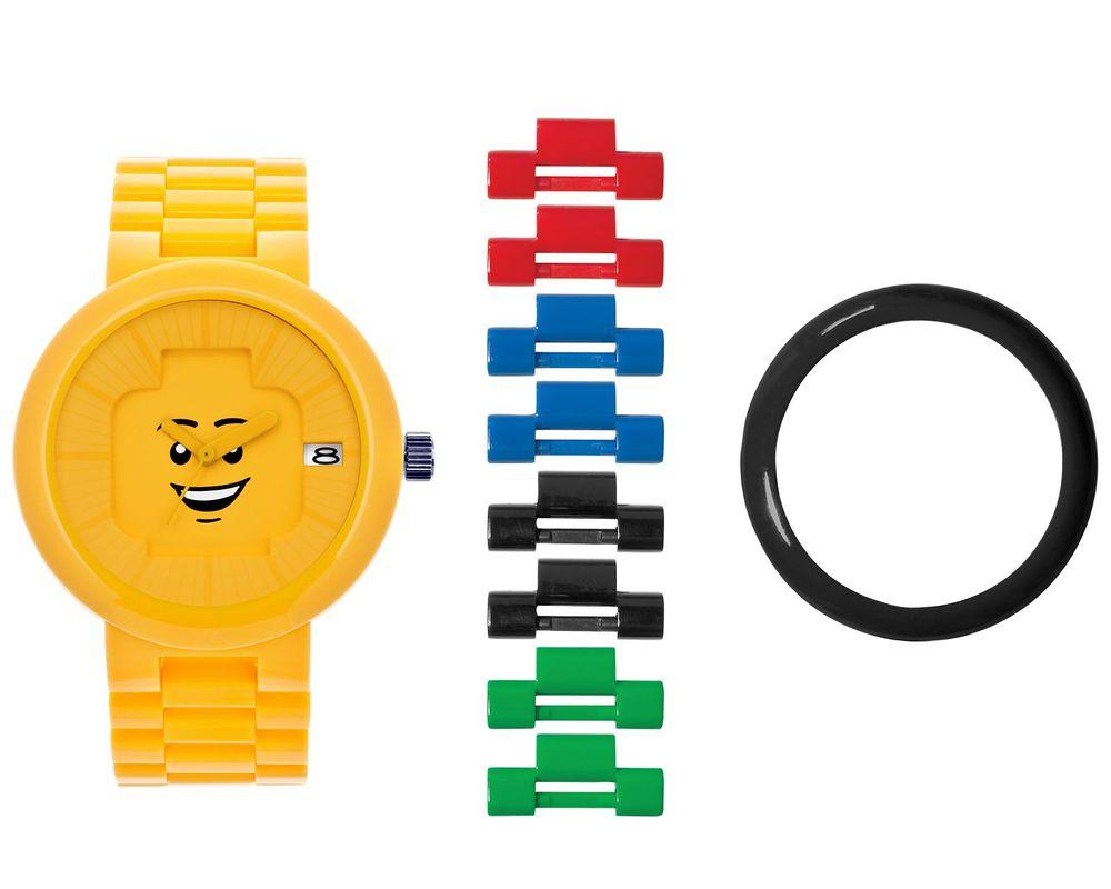 LEGO Set 5004128-1 Happiness Yellow Adult Watch
